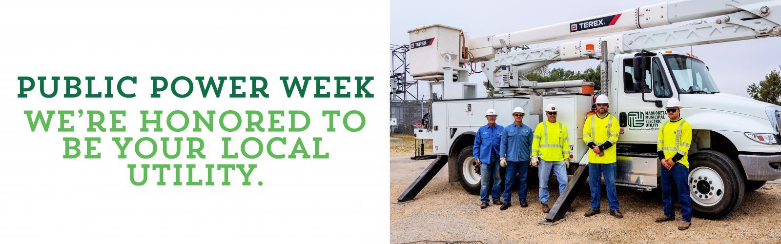 Text: Public Power Week